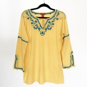Sundance Embroidered Tunic Top